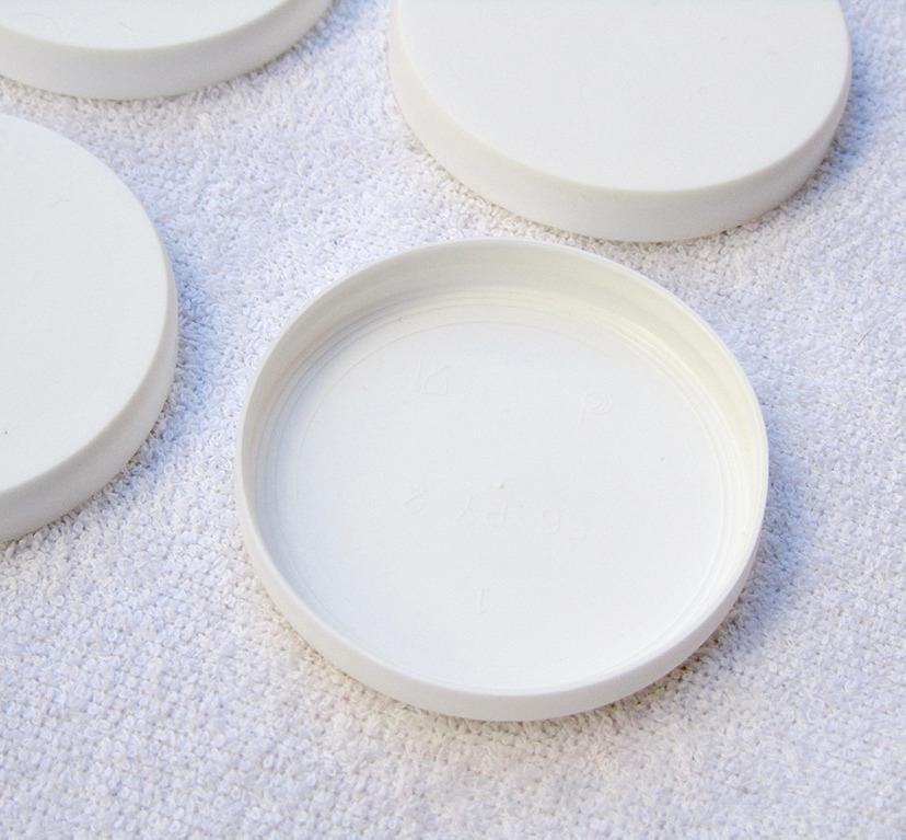 Capuline couvercles pour pots de yaourt en verre type - Pots de yaourts en verre avec couvercle ...
